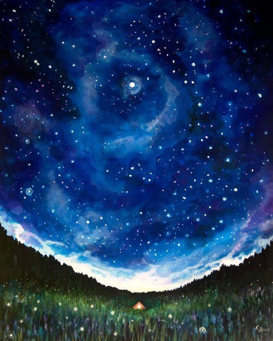 Tent Under The Stars (Kathryn Beals)