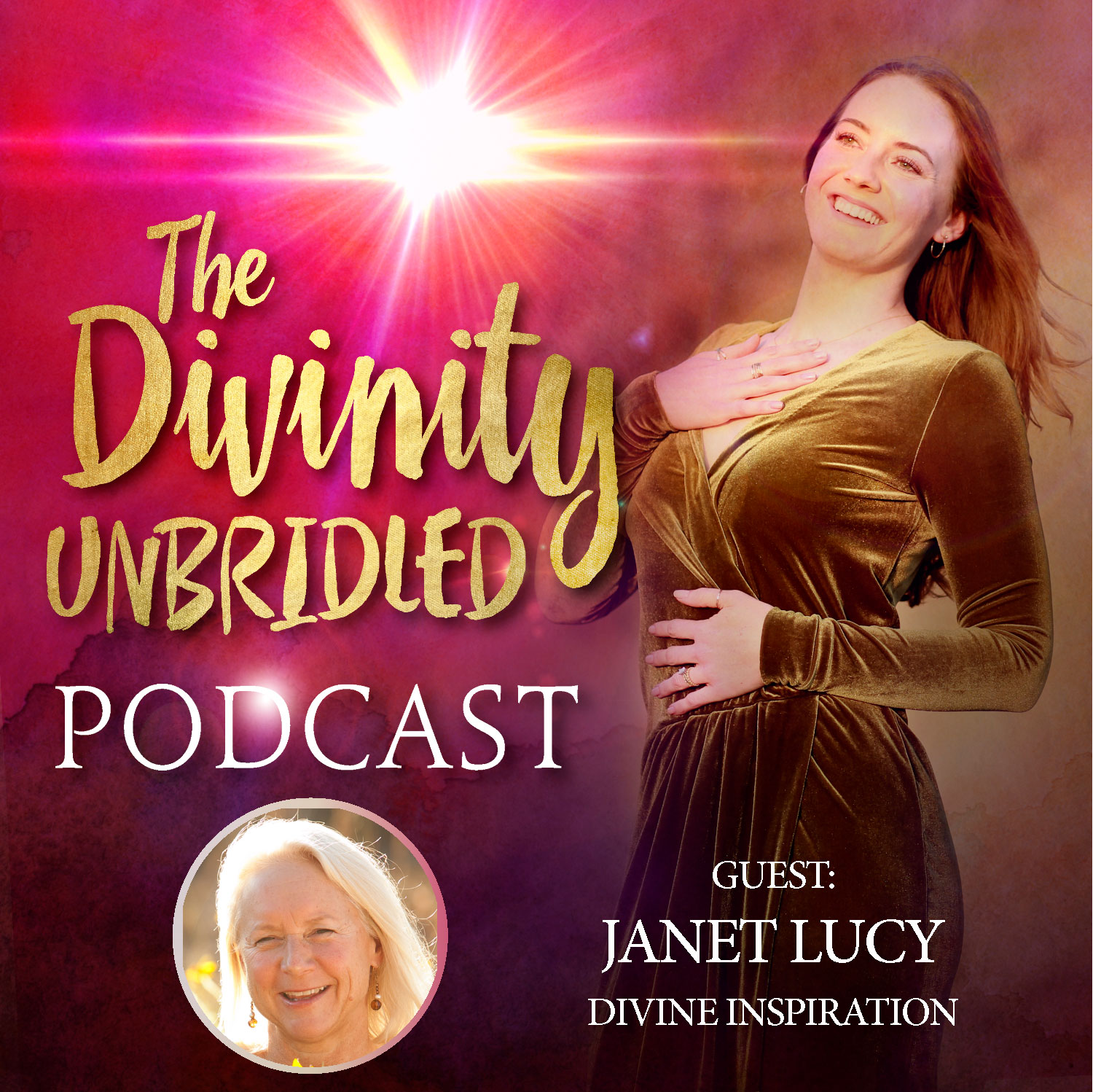 Divinity Unbridled Podcast Graphic